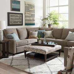 Fabric SeatingMagnificent MotionReclining Fabric L SectionalM000-LSECT4 Sectional Sofa With Recliner, Reclining Sectional, Living Room Sectional, Ikea Sectional, Recliners, Living Room Sets, Home Living Room, Living Room Designs, Recliner