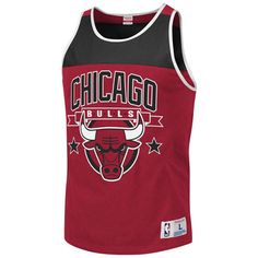 chicago bulls color block tank