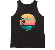 Look at that, you found our Orange County California Coastal City Palm Trees Beaches Tank Top! Orange County California, Sacramento California, Palm Trees Beach, Beach T Shirts, Beaches, Coastal, Tank Tops, City, Shopping
