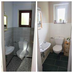Mein Badezimmer Vorher Nachher Mit Fliessenaufkleber Wohnen