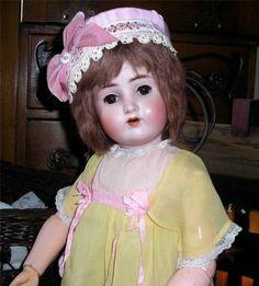 "Incredible German Antique Bisque 1362 Sweet Nell Doll 25"" Tall All Original | eBay-by Alt, Beck & Gottschalk"