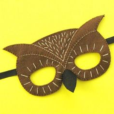So pleased to be sponsoring a tutorial to make this awesome owl mask by @lauralupinhoward who is a felty super hero. Made with our 100% wool felt and some simple embroidery stitches the free pattern and instructions can be found over at Laura's blog (link in bio). Thanks Laura!  #woolfelt #halloweencostume #halloweencrafts #owlmask #feltcraft #feltmask #makersmovement #craftsposure #embroideryinstaguild #makersgonnamake