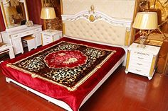 Amazon.com: JML Heavy Thick Korean Style Plush 2 Ply Reversibe Rose Pelt Floral Printed Thorw Bed Blanket, 78 x 94 Inches: Home & Kitchen Heavy Blanket, 2 Ply, Korean Style, Queen Size, Bedding Sets, Korean Fashion, Bed Blankets, Floral Prints, Plush