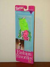 Barbie Fashion Favorites 1992 MOC Clothing Easy to Dress Shirt & Shorts