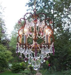 i want a chandelier in every room of my house!