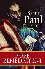 Saint Paul the Apostle, by Pope Benedict XVI. Pope Benedict XVI uses the teachings of St. Paul as a foundation for encouraging hope and spiritual wisdom within the modern Church. 128 pages, paperback. $8.95.