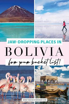 Bolivia is more than just the Bolivian Salt Flats. Discover these five fabulous Bolivian landscapes. Incredible photography spots in Bolivia you shouldn't miss during your trip to South America #bolivia #travel #southamerica #photography Backpacking South America, South America Travel, Travel Destinations, Travel Tips, Bolivia Travel, Lake Titicaca, Short Trip, Plan Your Trip, Landscapes