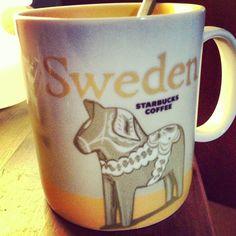 Two favorites combined! Swedish Girls, Swedish Style, Scandinavian Food, Scandinavian Christmas, Coffee Love, Coffee Break, Crazy Cat Lady, Crazy Cats, Norway Sweden Finland