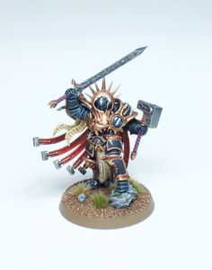 Stormcast Eternal Lord-Celestant, by Martin Peterson.