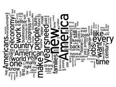 State of the Union wordcloud
