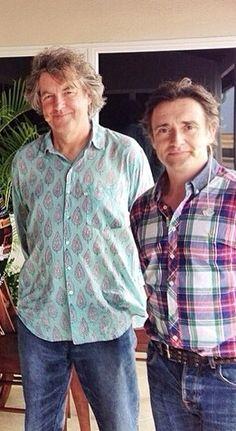James May and Richard Hammond