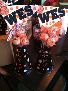 Cheerleading gift for the girls at the end of basketball season