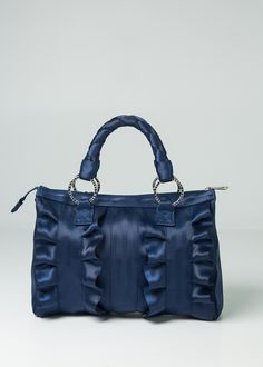 Lola Satchel Indigo-Out of Stock