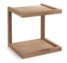Frame sofa side table