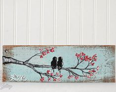 Birch Tree Wedding Unique Wood Wedding Gift by LindaFehlenGallery