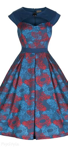 Lindy Bop  Lottie  Vintage 1950 s Party Dress Lindy Bop Dress 6c0308e9fae8