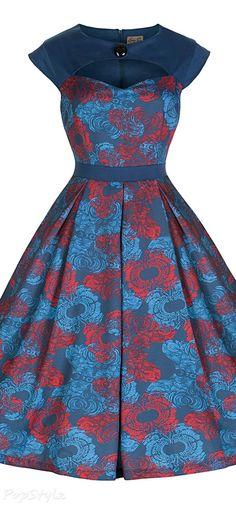 Lindy Bop 'Lottie' Vintage 1950's Party Dress