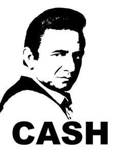 Check out my Johnny Cash Art ! Do you like Johnny Cash ????