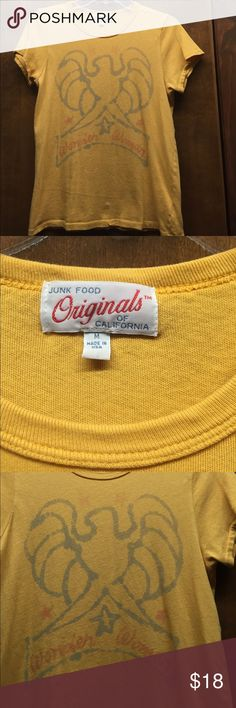 Junk Food Wonder Woman tshirt VGUC - design is printed to appear faded Junk Food Clothing Tops Tees - Short Sleeve