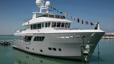Cantiere Delle Marche launches its third explorer yacht Darwin class M/Y Galego Explorer Yacht, New Explorer, Expedition Yachts, Big Yachts, Cruiser Boat, Boating Holidays, Maui Travel, Yacht For Sale, Motor Yacht