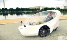 A new hybrid bike, the GinzVelo, has launched a Kickstarter campaign to build a recumbent tricycle that can travel up to 100 miles on a single charge.