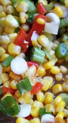 Reunion Food: Southern Shoe Peg Corn Salad