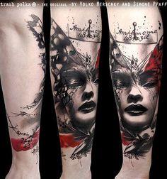 Tattoo by Trash Polka.
