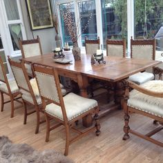 Dining Table, Rustic, Projects, Furniture, Home Decor, Country Primitive, Log Projects, Blue Prints, Decoration Home
