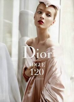 suicideblonde:  Daria Strokous photographed by Patrick Demarchelier for Dior, September 2012