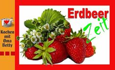 Erdbeerkonfitüre mit Minze - Rezept von Bettina Böhme Strawberry, Fruit, Food, Jam Recipes, Strawberries, Meal, The Fruit, Eten, Strawberry Fruit