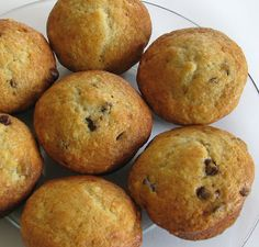 For the Love of Cooking » Banana Chocolate Chip Muffins