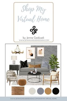 Shop the look! What is your modern design style? #moderndesign #globaldesign #interiordesignThis modern living room design is curated using neutrals and pops of orange and brass. The distinct bold black and white pattern paired with the burn orange and light blue color palette create a warm and inviting, global-inspired space.