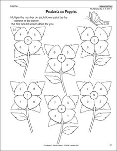 math worksheet : 1000 images about printables on pinterest  math worksheets 2nd  : Worksheet On Multiplication For Grade 2