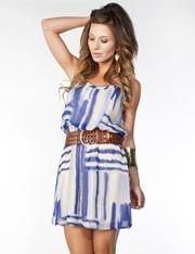 Printed Cami Dress @ FlirtCatalog.com