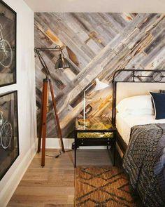 Asymmetrical plank boards for walls!
