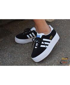 premium selection 7c82c 09812 Adidas Originals Gazelle Trainers Black
