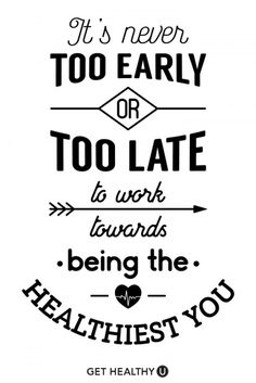 Quotes for Motivation and Inspiration QUOTATION – Image : As the quote says – Description If you're looking for health inspiration, funny quotes, and great fitness tips, Get Healthy U is the place for you! Transformation Quotes, Fitness Transformation, Good Health Quotes, Health Fitness Quotes, Being Healthy Quotes, Health And Wellness Quotes, Motivational Quotes For Health, Healthy Eating Quotes, Male Fitness