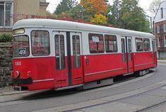 Wien Wiener Linien SL 49 1360 (+ XIV, Penzing, Hütteldorf, Bujattigasse am Oktober Corporate Identity Design, Rail Europe, U Bahn, Light Rail, Public Transport, Transportation, Germany, Iron, Vienna