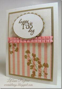 Stampin Up Wedding Cards   76 Best Stampin Up Wedding Cards Images On Pinterest Wedding