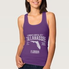 #Tallahassee Tank Top - #travel #trip #journey #tour #voyage #vacationtrip #vaction #traveling #travelling #gifts #giftideas #idea
