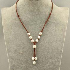 30% de descuento collar de perlas collar de por WangDesignJewelry