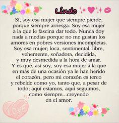 #SoyEsaMujerLoca #Love
