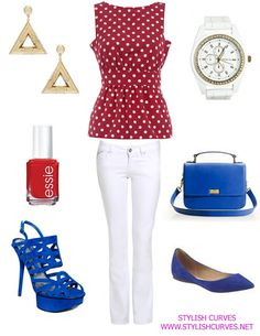 4th of July Get Together | PLUS SIZE OUTFIT IDEAS: WHAT TO WEAR ON THE 4TH OF JULY