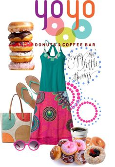 """""""Donut Say You Have Nothing to Wear"""" by madamdreamweaver ❤ liked on Polyvore"""