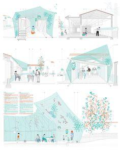 效果图 Gray Things iphone x space gray colors Architecture Panel, Architecture Graphics, Architecture Visualization, Architecture Drawings, Concept Architecture, Architecture Design, Architecture Diagrams, Architecture Portfolio, Architecture Presentation Board
