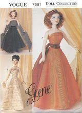 Web Album - Linda - Several Fashion Doll & Other Patterns