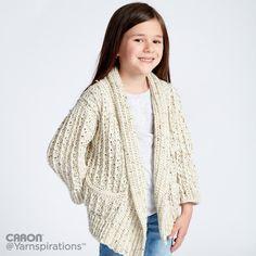 Crochet Chill Time Child's Cardigan