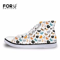 New Guns N Roses Pattern Printed Shoes for Women Men Casual Shoes Breathable Fashion High Top. Click visit to buy #Women #Vulcanize #Shoes #WomenShoes #VulcanizeShoes