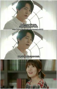 Awww  #TomorrowCantible #JooWon #Shimeunkyung / This is such a great drama already!!