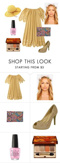 """""""Summertime"""" by chicastic on Polyvore featuring OPI and Clarins"""